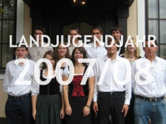 Landjugendjahr 2007/08